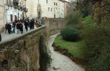 Rio Dardo a su paso por Granada