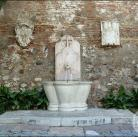 Fuente en la Alcazaba de Málaga