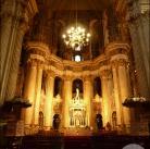 Altar mayor de la catedral de Málaga