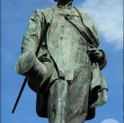 Estatua del Marqués de Larios en la Alameda de Málaga