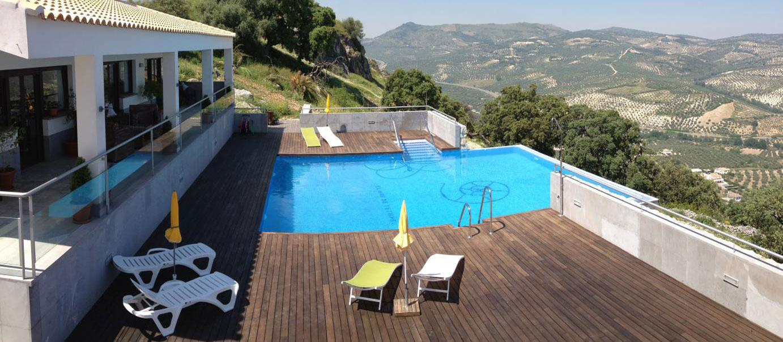 Hotel rural en la subb tica en andaluc a hoteles cordoba for Hoteles con piscina climatizada en andalucia